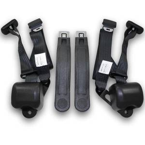 Seatbelt Planet - 1967-1969 Chevy Camaro Retractable Lap & Shoulder Conversion Seat Belt Kit