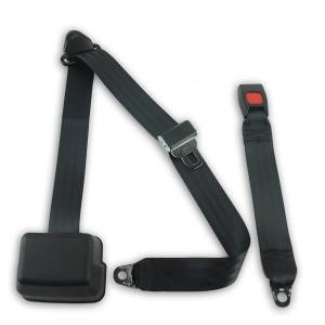 Seatbelt Planet - 1993-1995 Toyota T100 Pickup, Standard Cab, Driver or Passenger, Bench Seat Belt