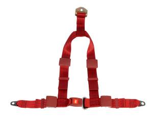 Seatbelt Planet - 4-point Y Harness Your Choice of Buckle Options