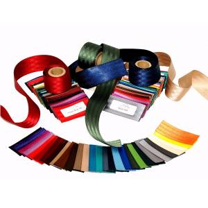 Seatbelt Planet - Webbing Sample Kit 32 Colors