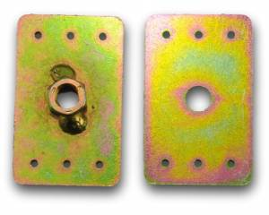 Seatbelt Planet - Threaded Mounting Plates