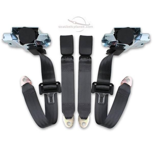 Seatbelt Planet - 1993-2002 Chevy Camaro Front Seat Belt Kit