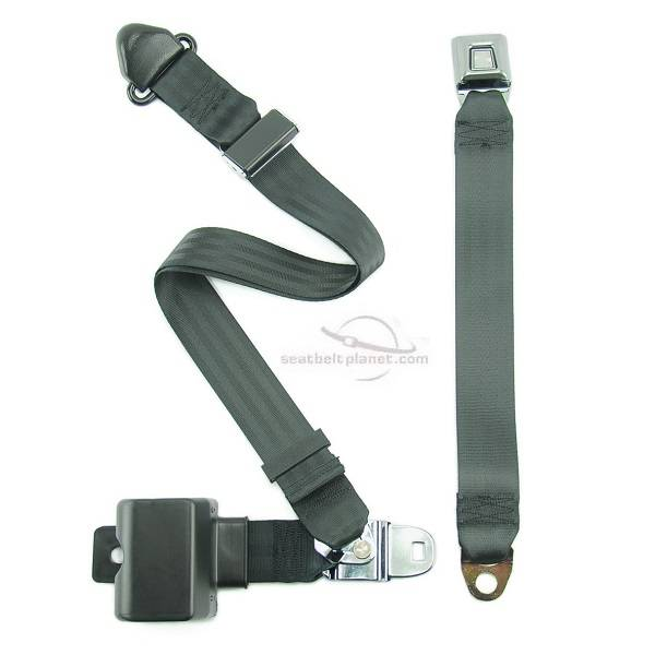 Seatbelt Planet - 1972-1973 Ford Ranchero Front Seat Belt
