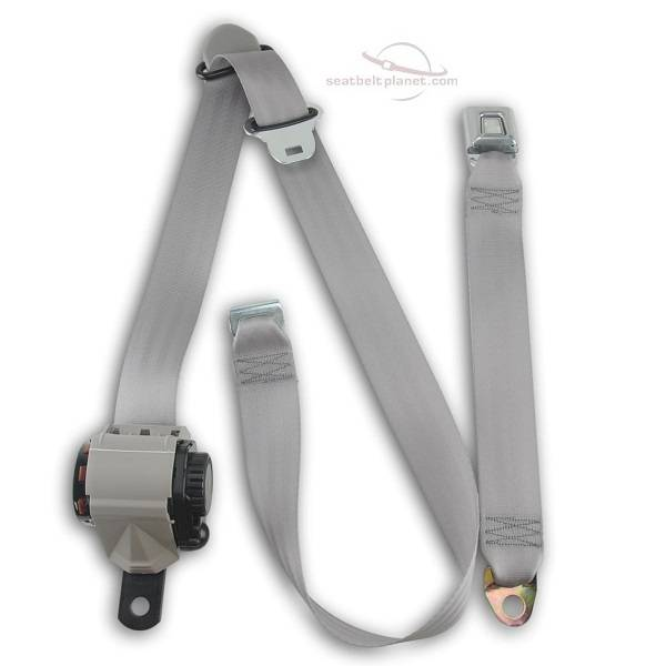 Seatbelt Planet - 1992-96 Ford F-Series Extended Cab Front Bench Seat Belt