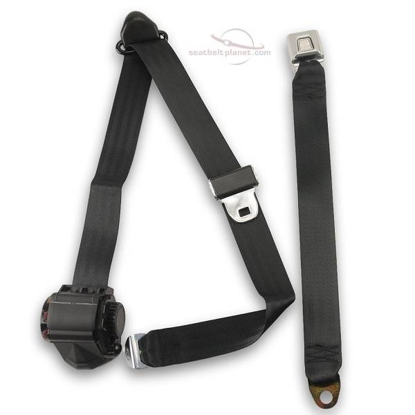 Seatbelt Planet - 1987-91 Ford F-Series Standard Cab Front Bench Seat Belt