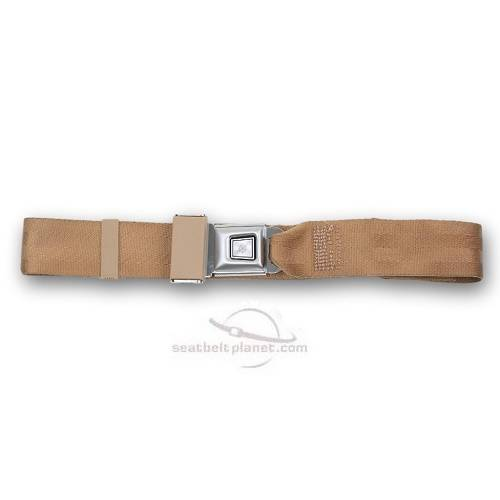Seatbelt Planet - 1971-74 Plymouth Scamp Rear Lap Seat Belt