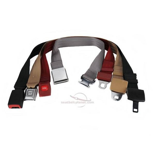 "Seatbelt Planet - Continous Loop Belts from 40"" to 140"""