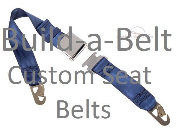 "Seatbelt Planet - ""Build-A-Belt"" Custom Designed Lap Belts"