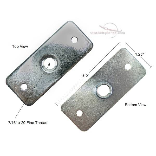 Seatbelt Planet - Seat Belt Mounting Bracket