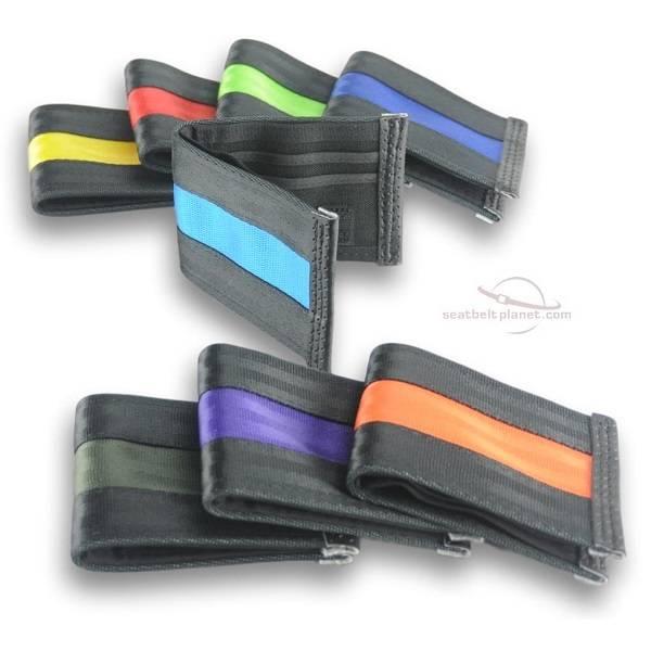 Seat Belt Wallets