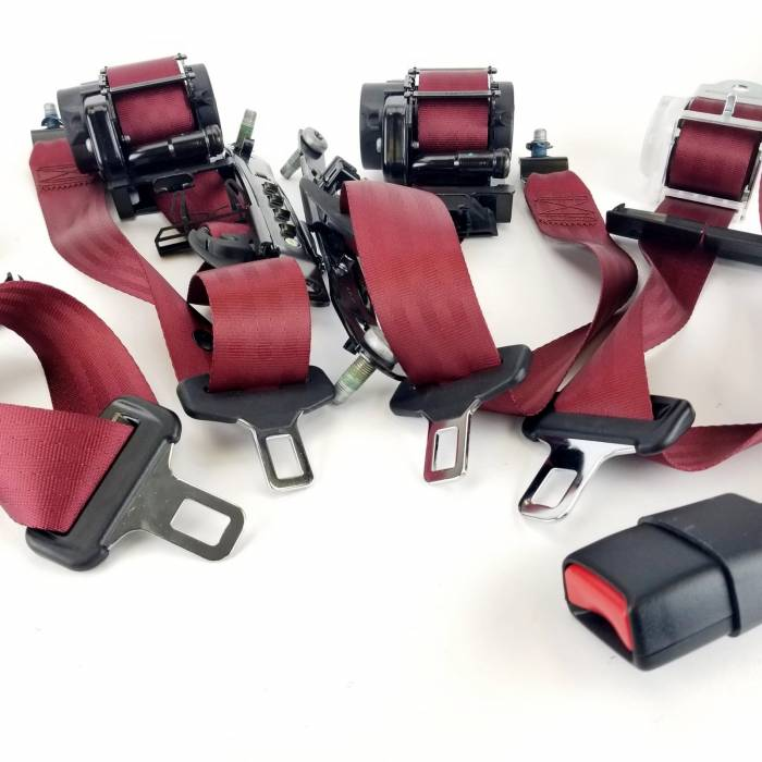 Seatbelt Planet - 2017 Dodge Charger, Full Vehicle, Retractor Sides