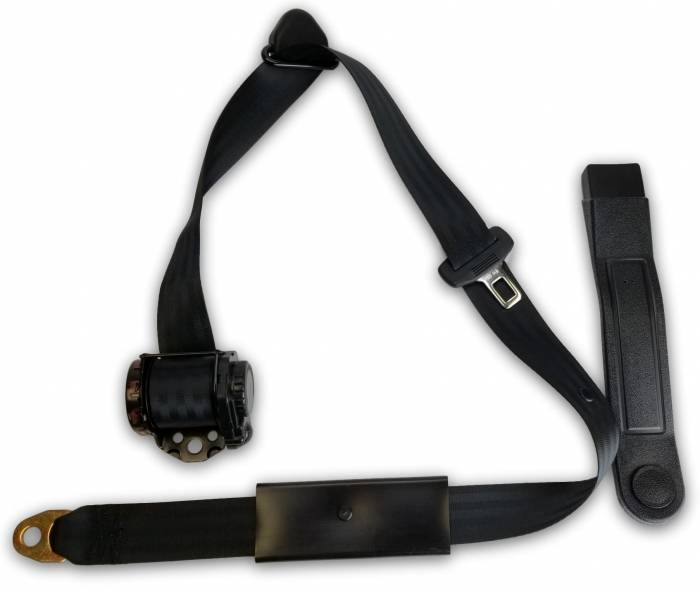1955-1962 MGA End Release Retractable Lap & Shoulder Seat Belt