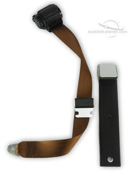 1955-1962 MGA Lift Latch Retractable Lap & Shoulder Seat Belt