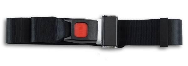 1988-1990 Toyota Landcruiser FJ62 Rear Plastic Push Button Seat Belt