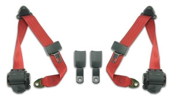 1973-1980 Mercedes-Benz 450 SL Front Seat Belt Kit