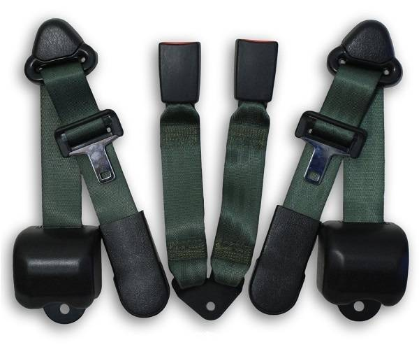 1997-2006 Jeep Wrangler Rear Seat Belt Kit