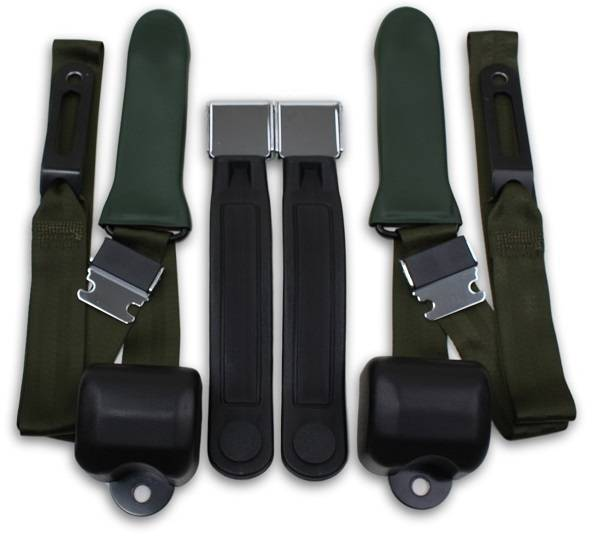 1964-1967 Chrysler Valiant Driver & Passenger Seat Belt Conversion Kit