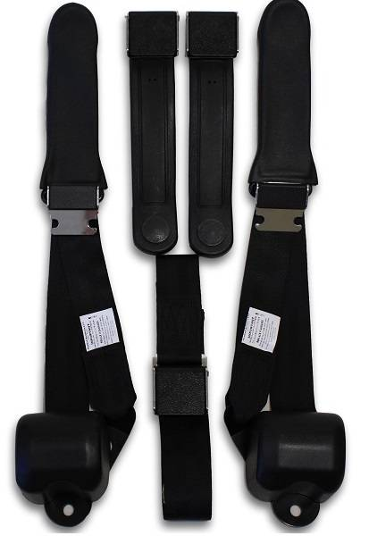 1969-1970 Valiant VF Driver, Passenger & Center Seat Belt Conversion Kit