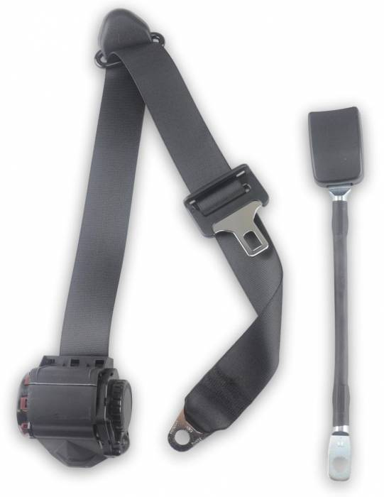 "1990-2002 International 4900, Driver or Passenger Seat Belt with 13"" Cable Buckle"