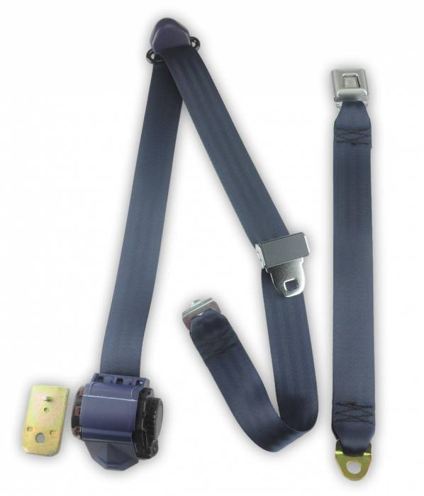1987-1991 Ford F-Series, Crew Cab, Driver or Passenger, Bench Seat Belt