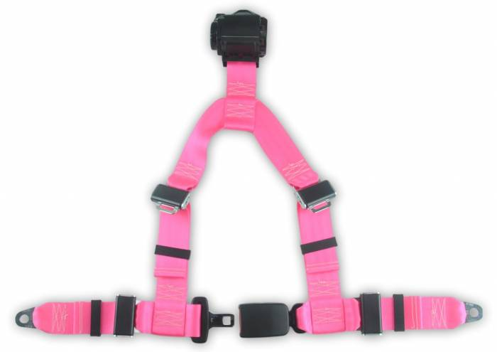4-point Retractable Y Harness with End Release Buckle