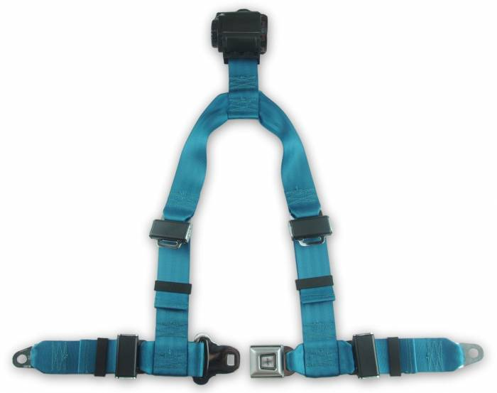 4-point Retractable Y Harness with All Metal Buckle