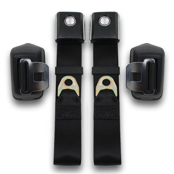 1968-1977 Ford Bronco Retractable Lap Seat Belt Kit