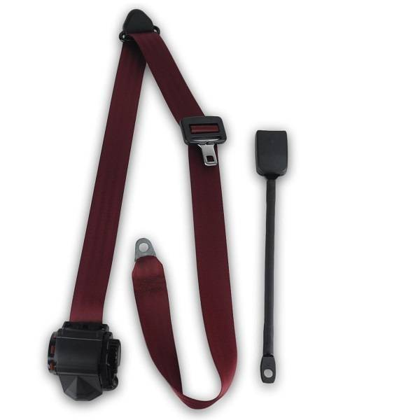 1974-1976 Triumph TR250 End Release Retractable Lap & Shoulder Seat Belt