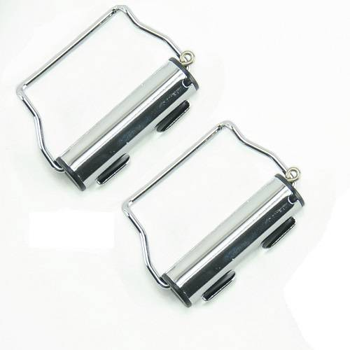 Chrome Webbing Roll Up - Set of 2