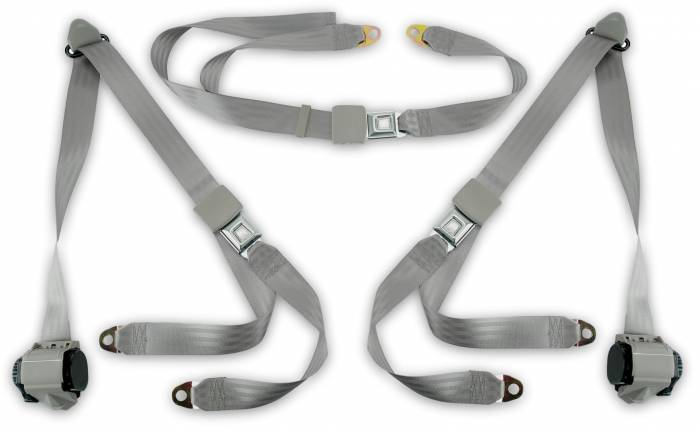 1973-1987 GMC Truck Standard Cab Bench Seat Belt Kit