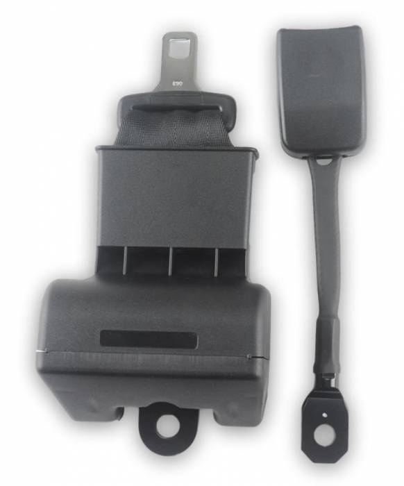 "2-Point Lap Retractable Seat Belt 3"" Wide End Release Buckle"