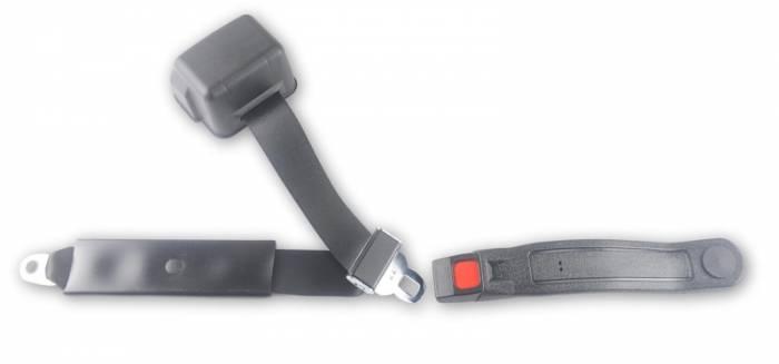 1961-1974 MG Midget Push Button Retractable Lap & Shoulder Seat Belt
