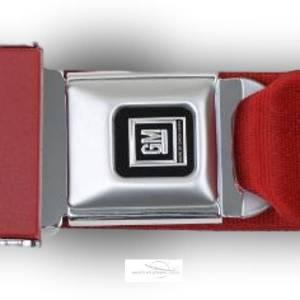 Seatbelt Planet - 1968-1969 Chevy Corvette GM Logo Retractable Lap & Shoulder Seat Belt Kit - Image 2
