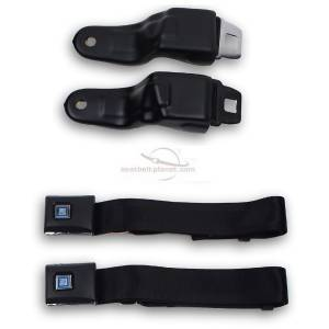 Camaro - Camaro OE Style, Direct Fit - Seatbelt Planet - 1967-1969 Chevy Camaro Retractable Lap Seat Belt Kit
