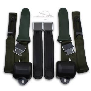 Chrysler - Valiant - Seatbelt Planet - 1964-1967 Chrysler Valiant Driver & Passenger Seat Belt Conversion Kit