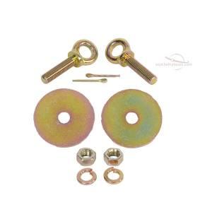 1948-1961 Jaguar XK, Lift Latch Buckle, Lap Seat Belt Snap Hook Hardware
