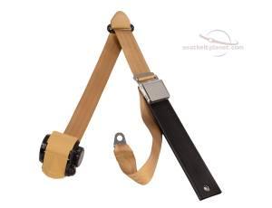 MG - MGA - Seatbelt Planet - 1955-1962 MGA Lift Latch Retractable Lap & Shoulder Seat Belt