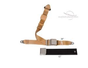 Triumph - TR7/TR8 - Seatbelt Planet - 1974-78 TR7/TR8 Lift Latch Lap & Shoulder Seat Belt