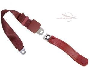 Seatbelt Planet - 2-Point Lap Seat Belt All Metal Starburst or GM Logo Buckle - Image 3