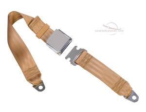 Seatbelt Planet - 2-Point Lap Seat Belt Custom Lid Lift Latch Buckle - Image 2