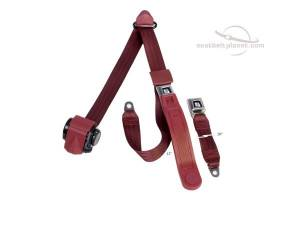 Shop by Industry - RV - Seatbelt Planet - 3-Point Lap/Shoulder Retractable Seat Belt All Metal Starburst or GM Logo Buckle