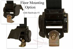 Retractor Floor Mounting Option