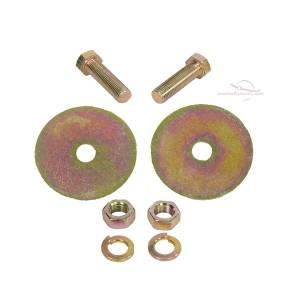1961-1974 MG Midget Push Button Retractable Lap & Shoulder Seat Belt Hardware