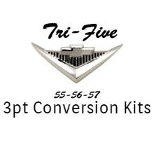 Chevy - Tri-Five - 1955-57 Tri-Five 3 Point Conversion Kits