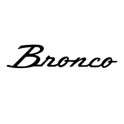Shop by Vehicle - Ford - Bronco