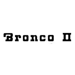 Shop by Vehicle - Ford - Bronco II
