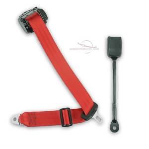 Shop by Vehicle - Fiat - Seatbelt Planet - 1979-1985 Fiat Spider 124 (2000 Series), Driver or Passenger Seat Belt