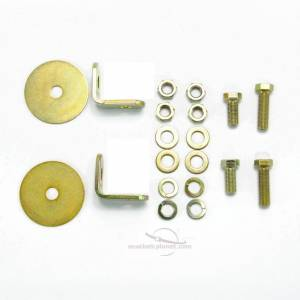 1972-1978 Toyota Land Cruiser FJ40, Driver & Passenger Seat Belt Kit Additional Hardware
