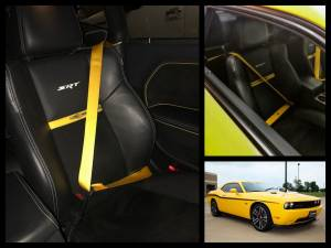 Seatbelt Planet - 2016-2019 Dodge Challenger, Driver and Passenger - Image 4