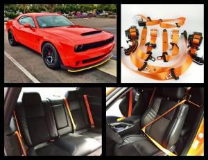 Seatbelt Planet - 2016-2019 Dodge Challenger, Driver and Passenger - Image 5